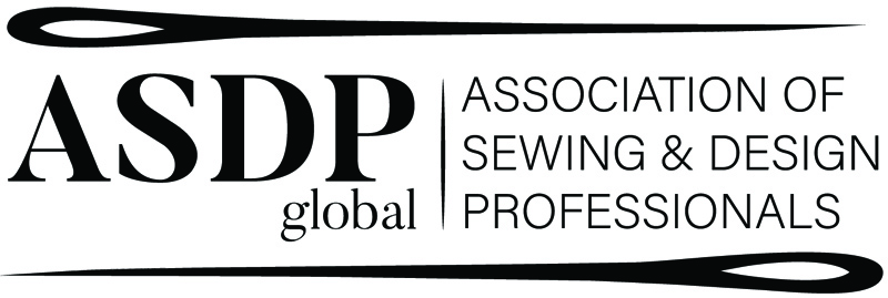 Logo for the National ASDP (Association of Sewing and Design Professionals).